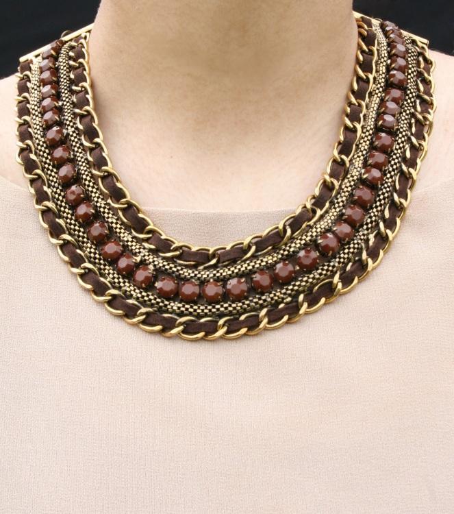 Deep Mocha Necklace