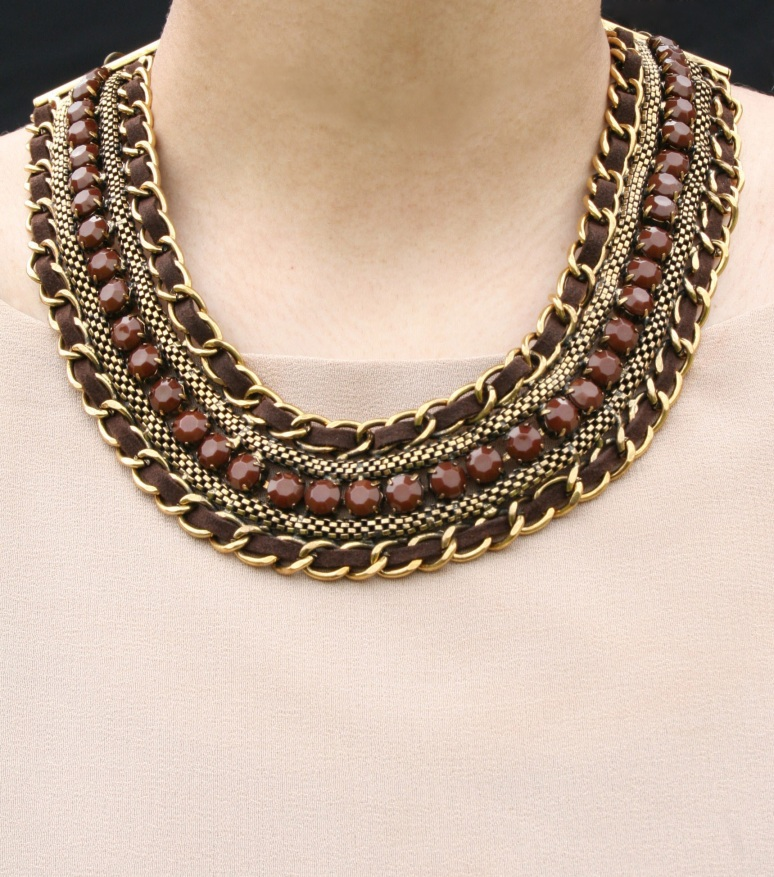 Deep Mocha Necklace