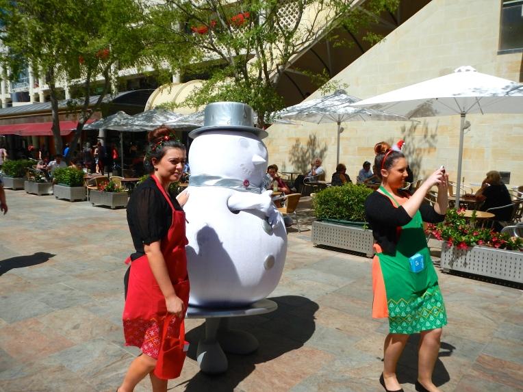 Snowman Perth