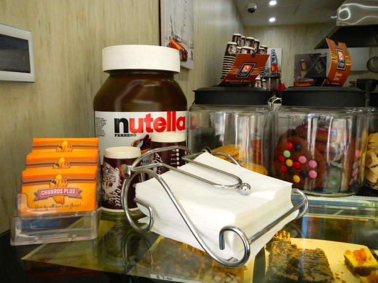 Churros Nutella