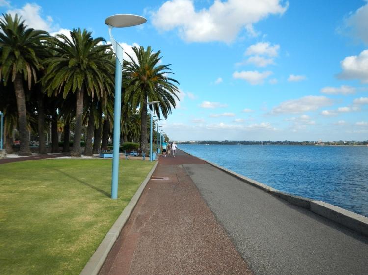 Swan River bay