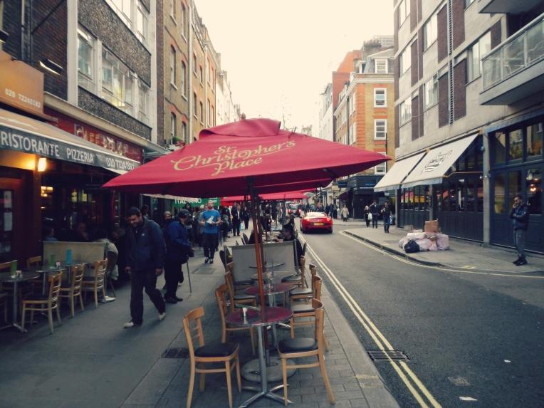 St Christopher's Place London