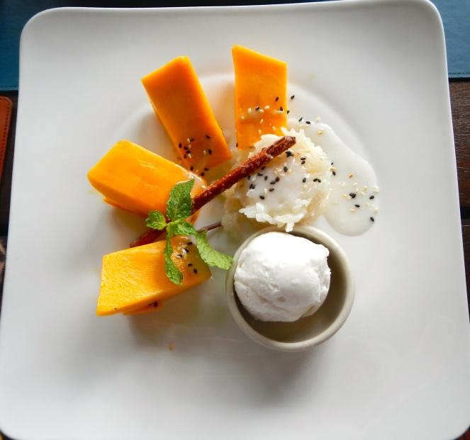 Mango Sticky Rice Bangkok Thailand