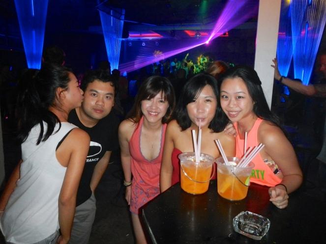 Black Moon Party Koh Samui Girls