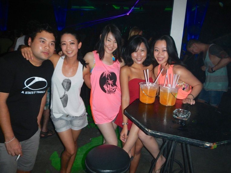 Black Moon Party Koh Samui Girls