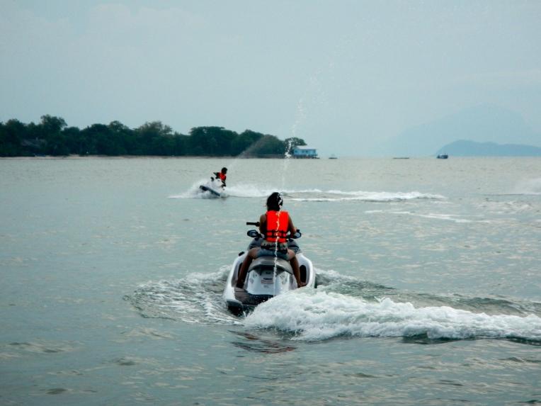 Jet Ski Thailand Sun