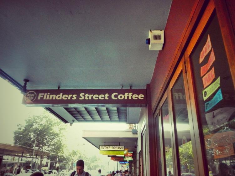 Flinders Street Coffee Front