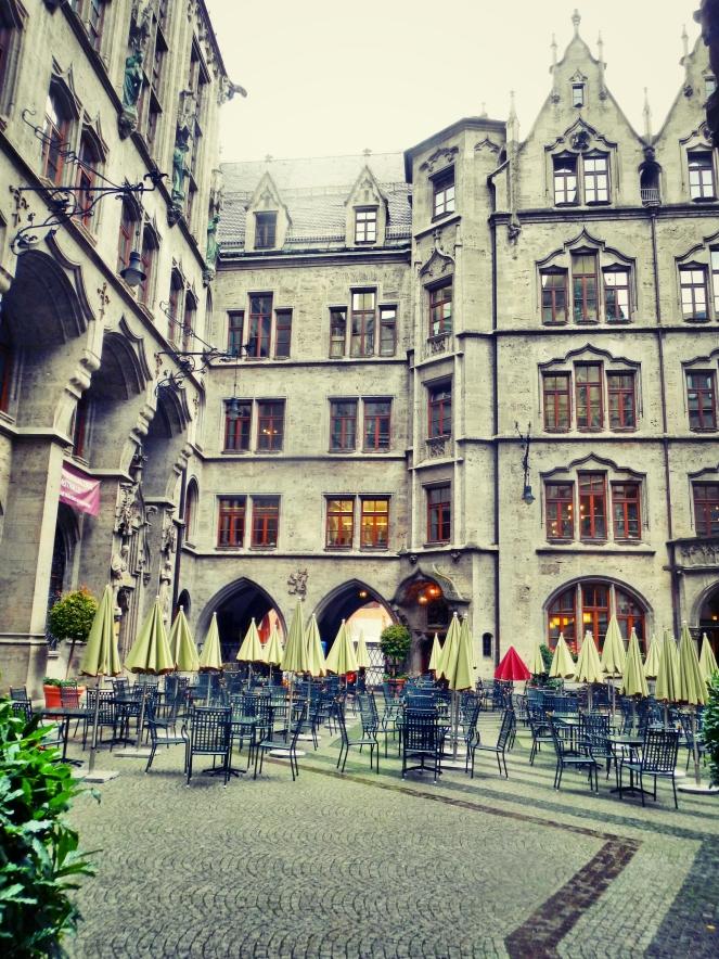 Inside Rathaus Glockenspiel