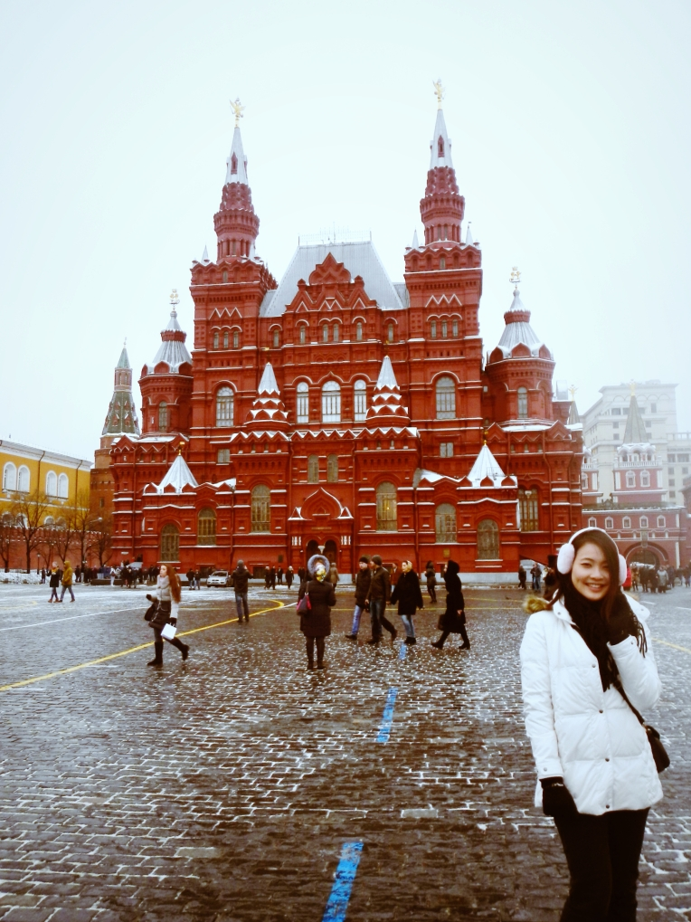 Moscow Red Square Blogger