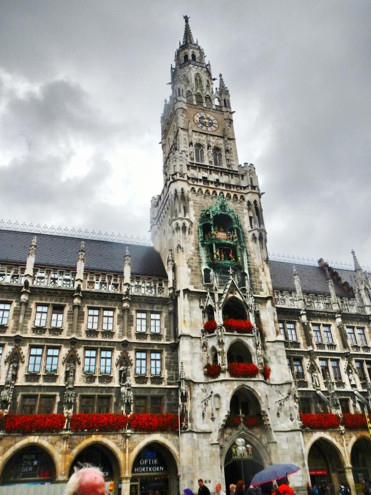 Rathaus Glockenspiel Munich 1