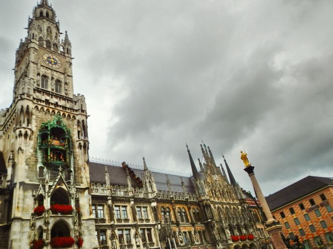 Rathaus Glockenspiel Munich 2