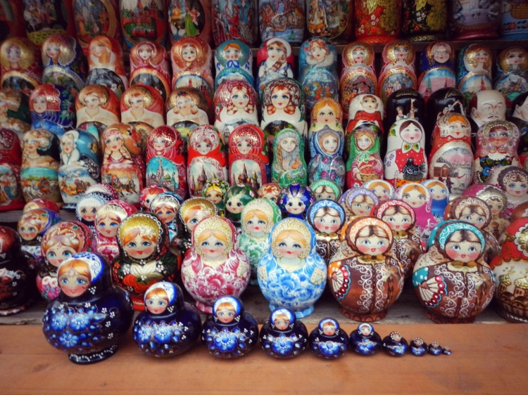 Russian Dolls Moscow 1