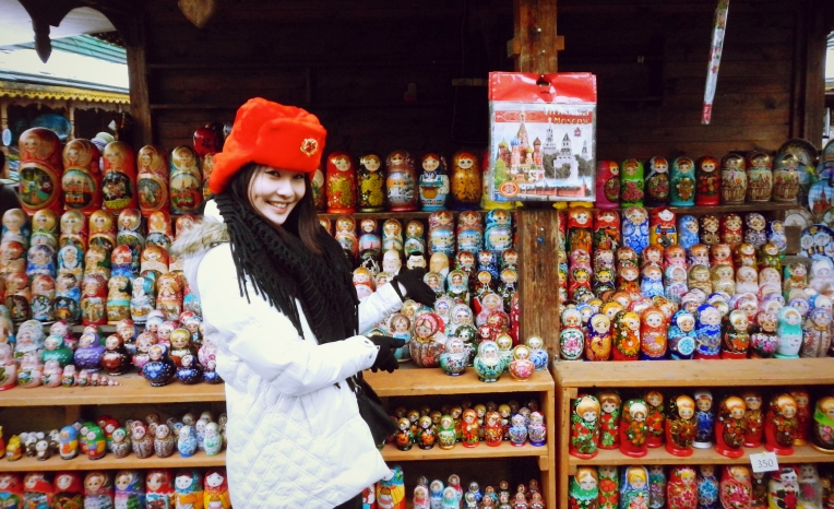 Russian Dolls Moscow Blogger