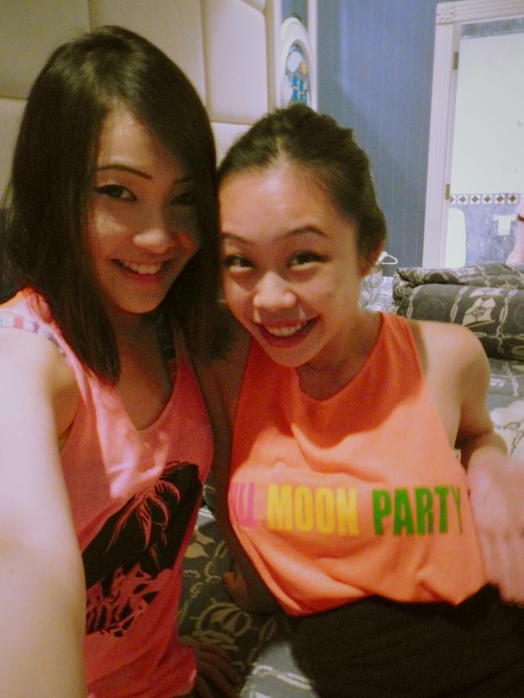 Samui Dark Moon Party OOTD