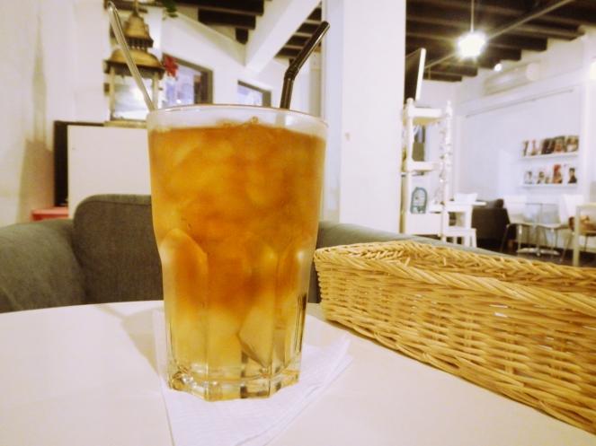 The Loft Chinatown Earl Grey Iced Tea with Aloe Vera