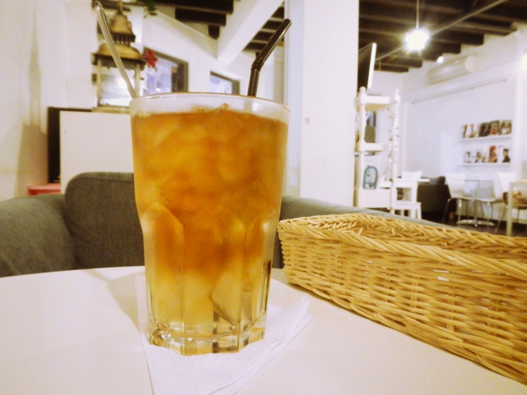 The Loft Chinatown Earl Grey Iced Tea with Aloe Vera