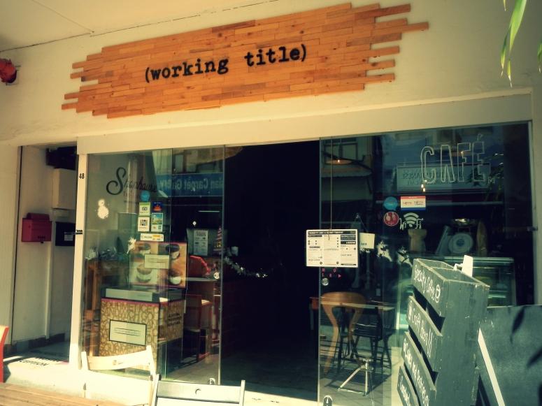 Working Title SG Shopfront