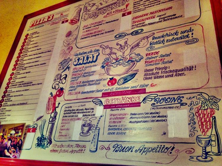 Old Man Pizza Frankfurt Menu