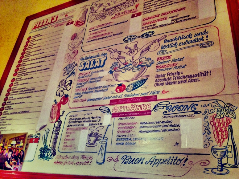 Old Man Pizza Frankfurt Menu