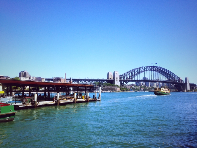 Sydney Harbour Bridge So Blue