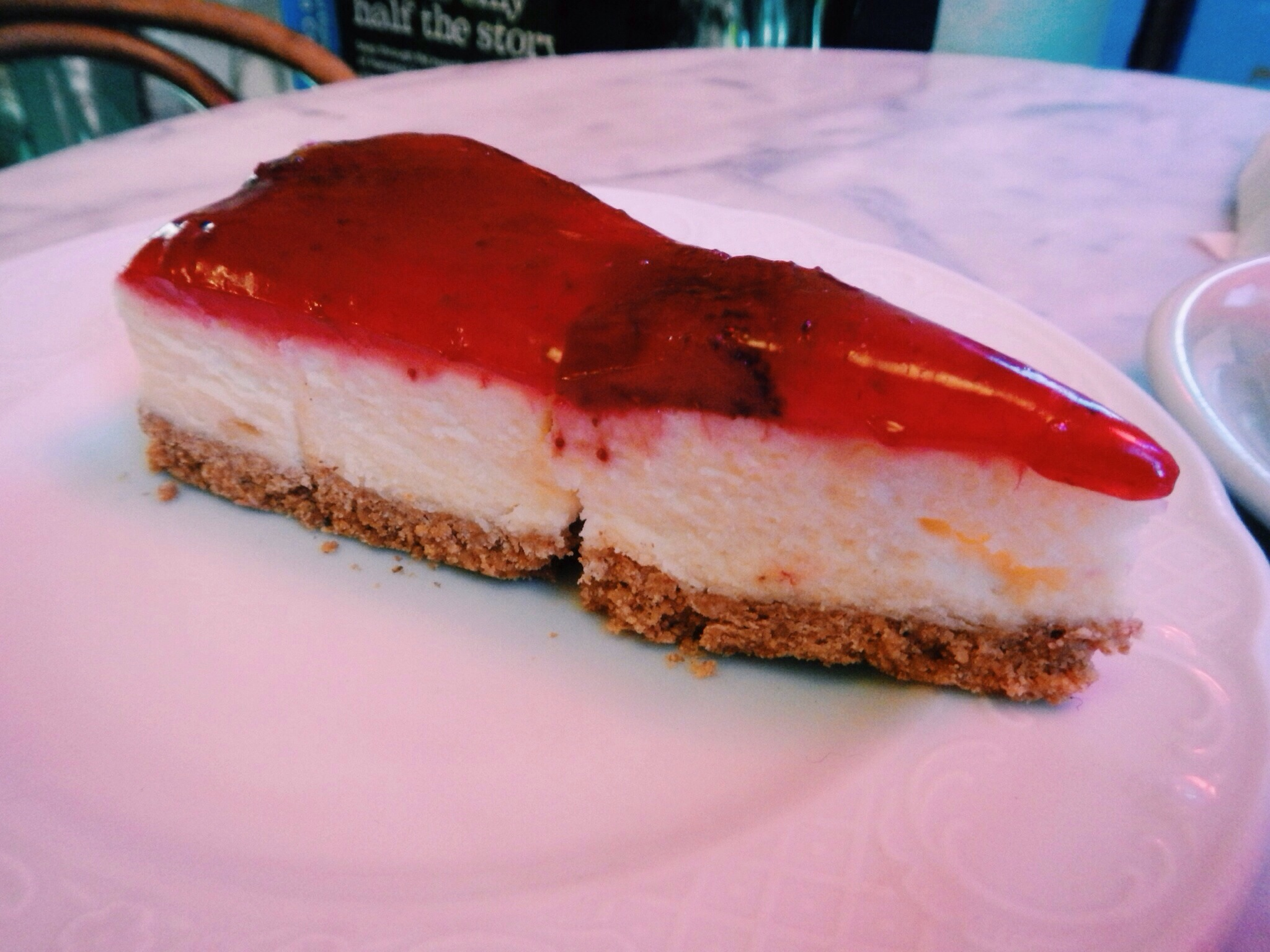 Charles Dickens Coffee House Cheesecake