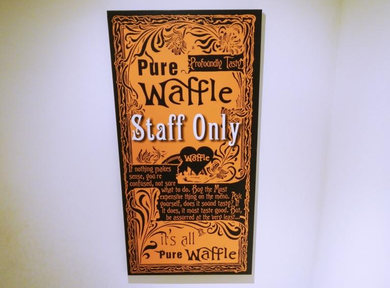Pure Waffle London a