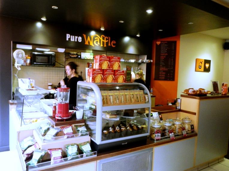 Pure Waffle London b
