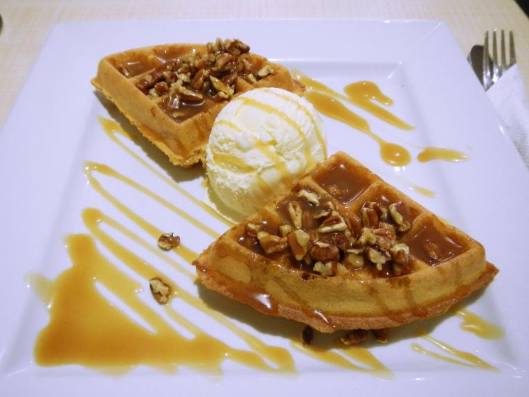 Pure Waffle London Pecan Butterscotch