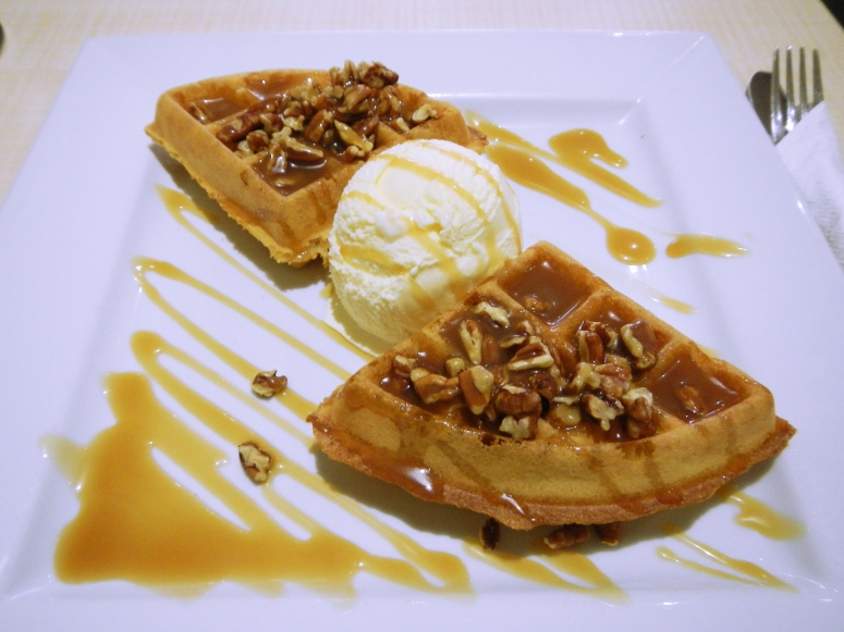 Pure Waffle London Pecan Butterscotch