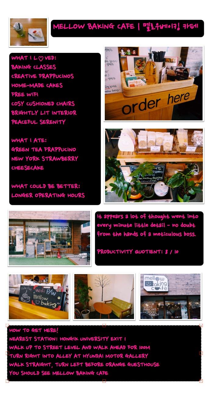 Mellow Baking Cafe Korea