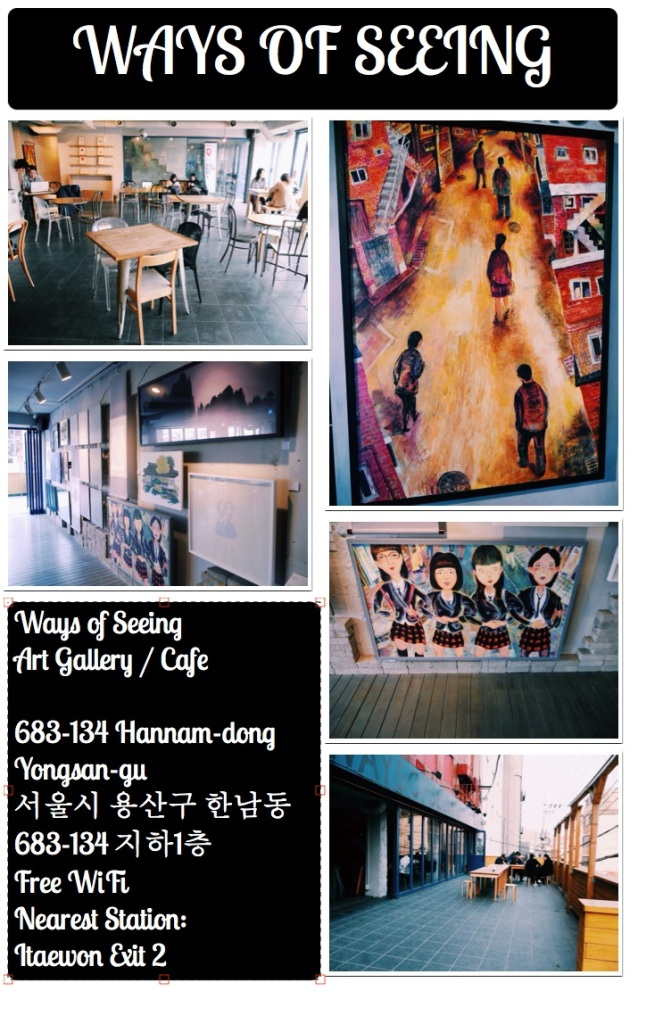 Ways of Seeing Art Cafe