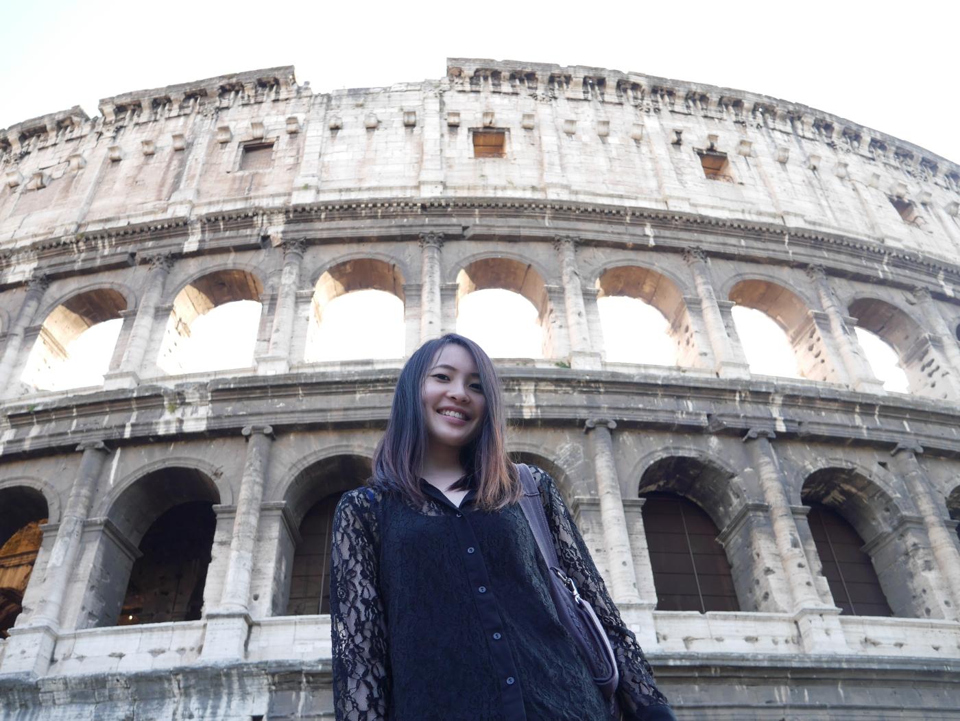 Jean Li Viktoria Jean in Rome