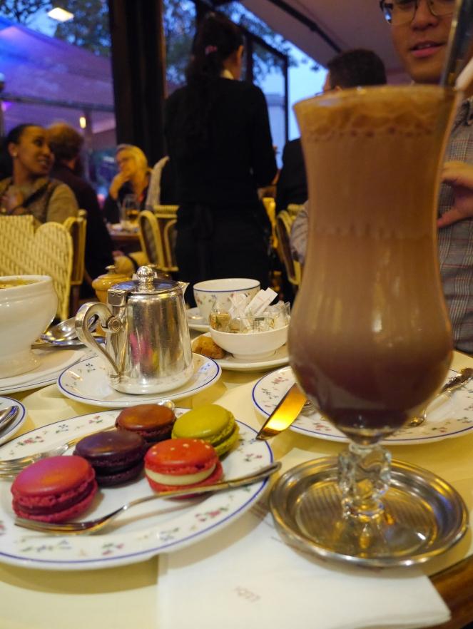 chocolate shake paris