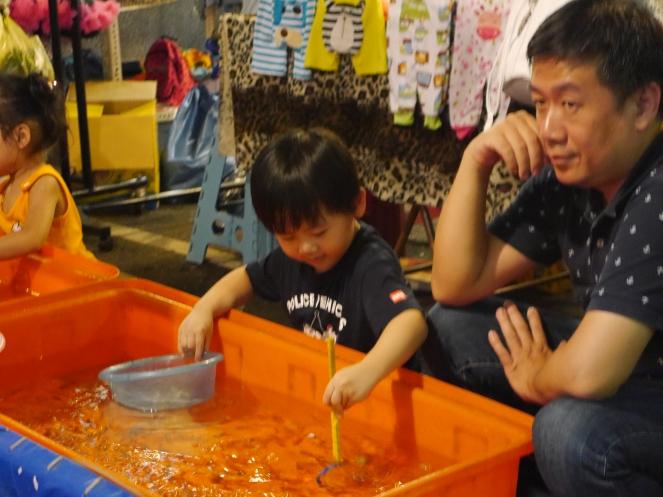 kids activities night market