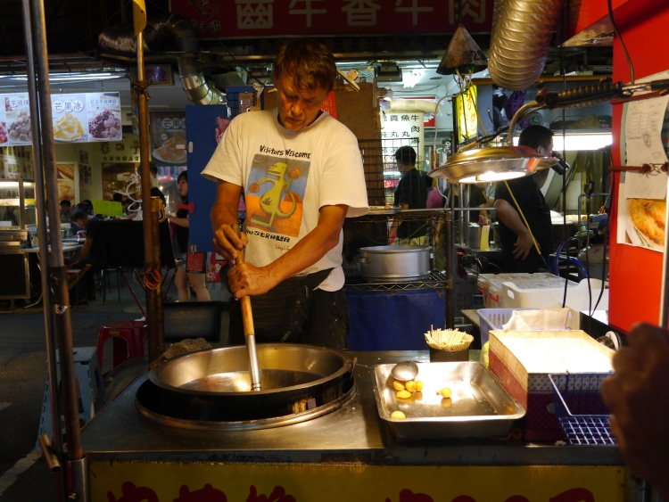 night market cuttlefish balls