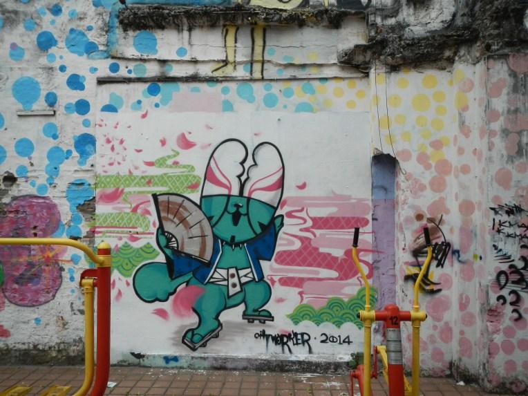 awesome graffiti macau