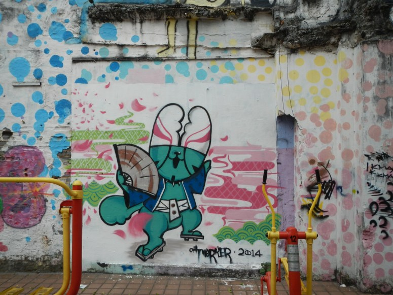 awesome graffiti macau