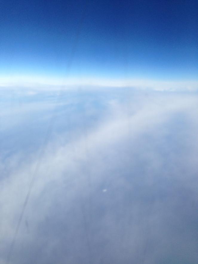 skies blue