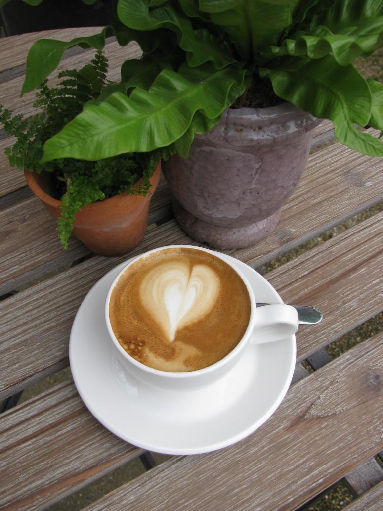 West Six Garden Cafe Cappuccino