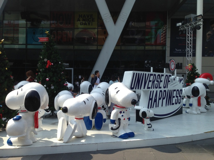 snoopy centralworld