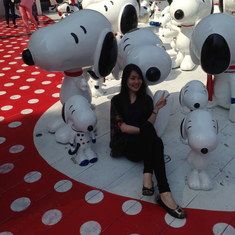 Central World Siam Snoopy