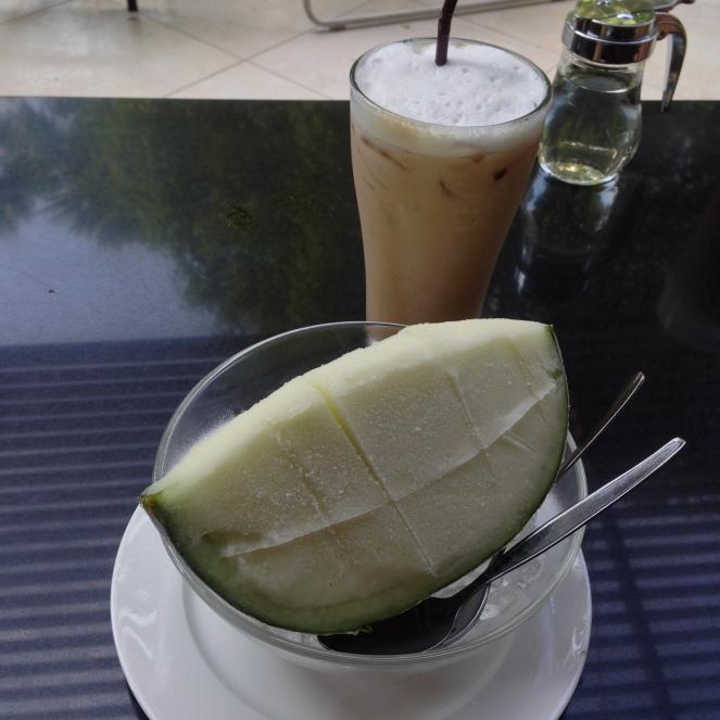 rock melon sorbet siam paragon manna thai