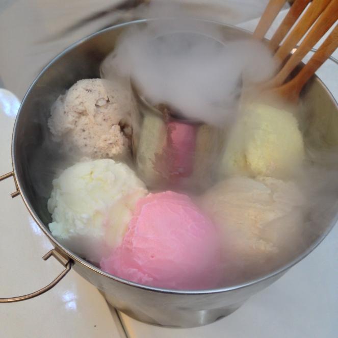 smoky ice cream