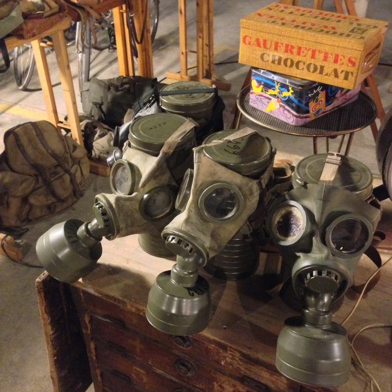 For Sale: Gas masks, anybody?