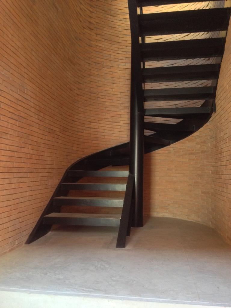 Curved Staircase Sala Ayutthaya